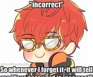 anime, anime boy, and saeyoung choi image