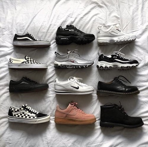 article, nike, and shoes image
