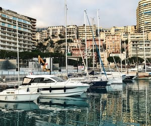 france, monaco, and peaceful image