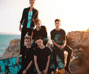 why don't we, corbyn besson, and zach herron image
