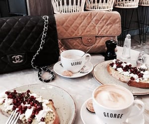 food, breakfast, and chanel image