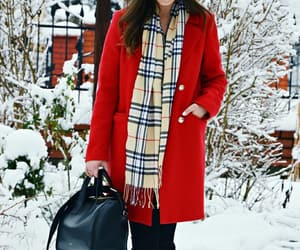 Burberry, fashion, and coat image