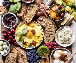 brunch, meal, and food image