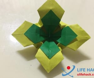 crafts, origami, and four leaf clover origami image