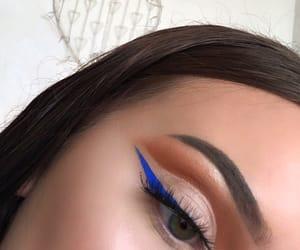anastasia, eyebrows, and eyeliner image
