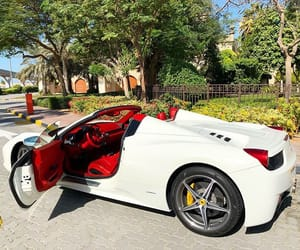 car, holiday, and Dubai image