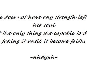 faith, move on, and strength image