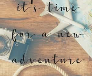 travel, traveling, and new adventure image