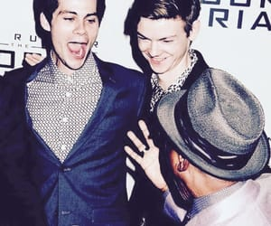 thomas brodie sangster and dylan obrien image