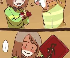 chara, chariel, and undertale image
