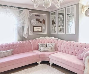 cool, decor, and pink image