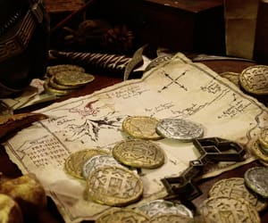 calligraphy, coins, and handwriting image