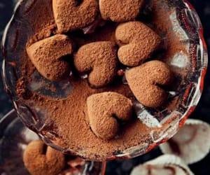 chocolate, sweet, and heart image