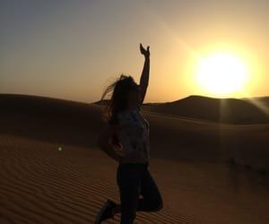 Dubai, sun, and safaridesert image
