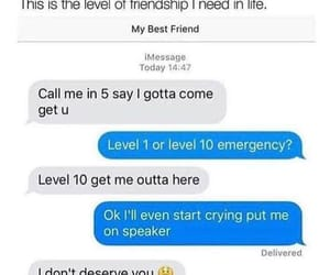 friendship, dependent, and life saver image