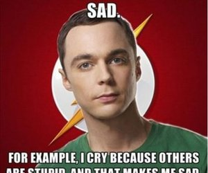 funny, sheldon, and big bang theory image