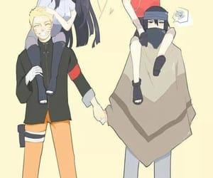 naruto, sasusaku, and naruhina image