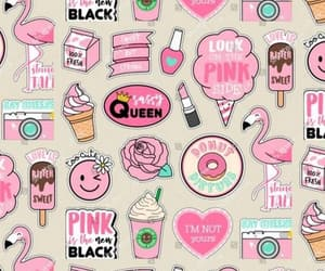 wallpaper and pink image