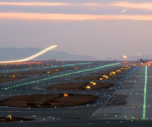 lights, planes, and travel image