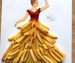 beauty, draw, and food image