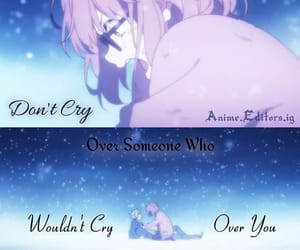 anime, quotes, and cry image