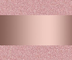 rose gold and glitter image
