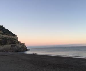 Amalfi coast, beach, and sea image