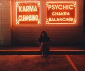 grunge, neon, and light image