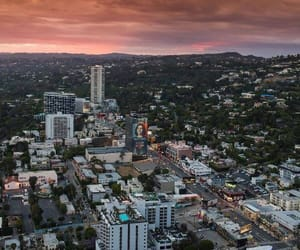 california, los angeles, and sunset blvd image