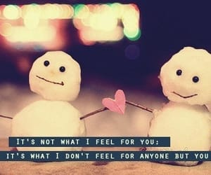 quotes, winter, and love image