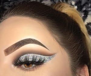 blue eyes, brown eyes, and eye image