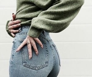 aesthetic, ass, and clothes image