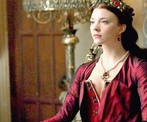 anne boleyn, brunette, and dress image