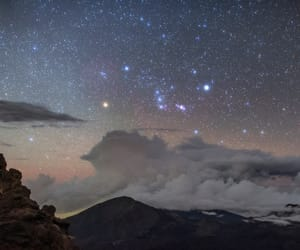 hawaii, sky, and stars image