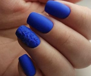 blue, fashion, and lacquer image