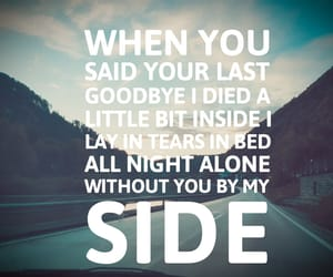 heartbroken, i miss you, and Lyrics image