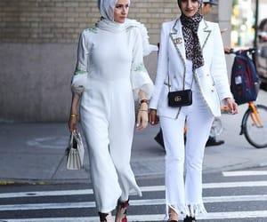 fashion, glam, and hijab image