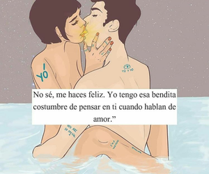 amor, felicidad, and frases image