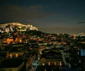 acropolis, Greece, and Athens image