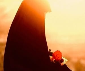 god, hijab, and islam image