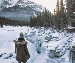 jasper, travel, and winter wonderland image