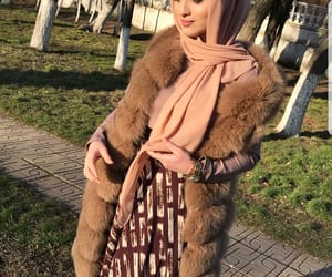 fashion, hijab, and chechen image