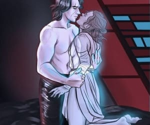 star wars, reylo, and love image