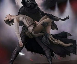 reylo, fan art, and star wars image