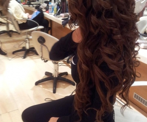 curls, perfeito, and hair image