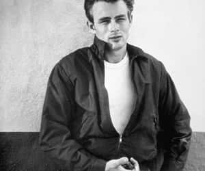james dean, black and white, and sexy image