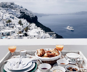 breakfast, food, and Greece image