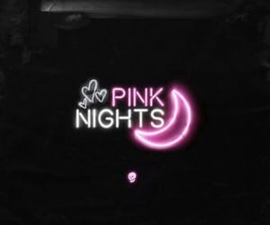 colors, neon, and pink image