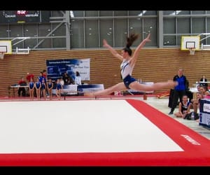 competition, sport, and gymnaste image