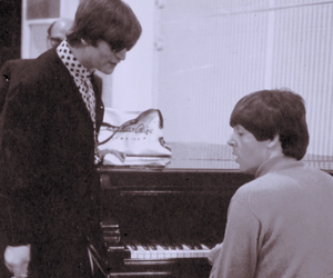 george, mccartney, and music image